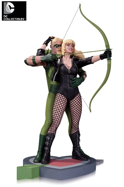 DC Collectibles DC Comics Green Arrow and Black Canary Statue