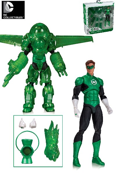 DC Icons Green Lantern Hal Jordan Dark Days Deluxe Action Figure