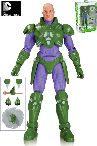 DC Comics Icons Lex Luthor Forever Evil Action Figure