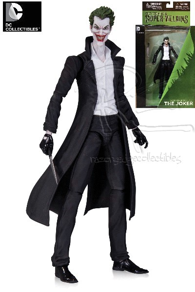 DC Comics The New 52 The Joker in Trench Coat Action Figure
