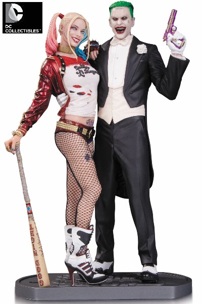 DC Collectibles Suicide Squad Movie Joker & Harley Quinn Statue