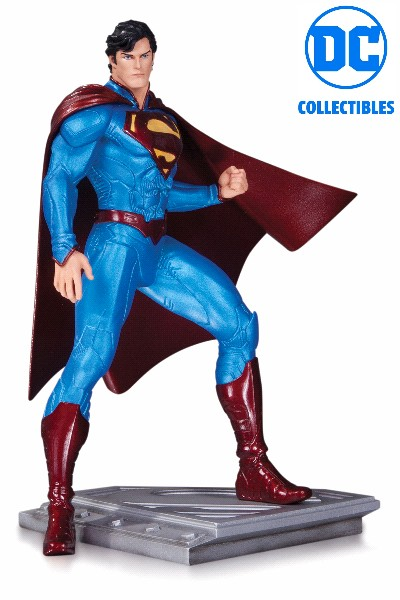 DC Collectibles Superman Man of Steel Statue by Cully Hamner