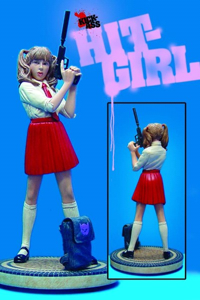 Dynamic Forces Kick Ass Hit Girl School Girl Red Skirt Statue