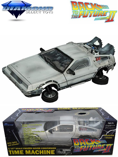 Diamond Select Toys Back to the Future Frozen Hover Time Machine