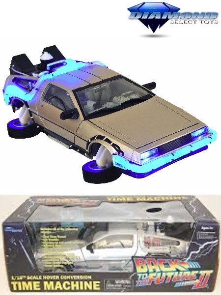 Diamond Select Toys Back to the Future II Hover Time Machine