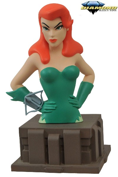 Diamond Select Toys DC Batman Animated Series Poison Ivy Bust