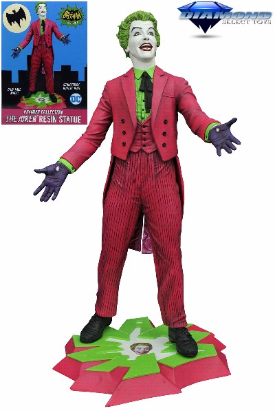 Diamond Select Toys DC Batman 1966 TV Series The Joker Statue