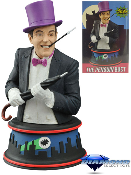 Diamond Select Toys Batman 66 Classic TV Series The Penguin Bust