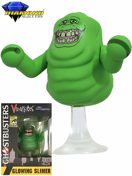 Diamond Select Toys Ghostbusters Glow in Dark Slimer Vinimates