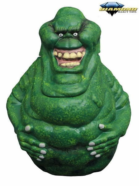 Diamond Select Toys Ghostbusters Slimer Ceramic Cookie Jar