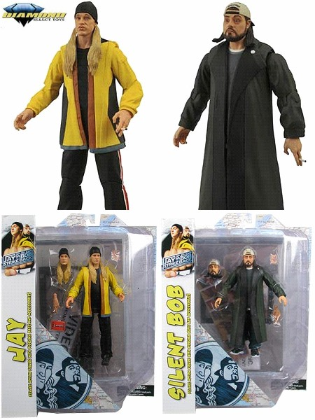 Diamond Select Toys Jay and Silent Bob Strikes Back Figure Set