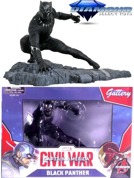 Diamond Select Toys Marvel Gallery Black Panther PVC Figure