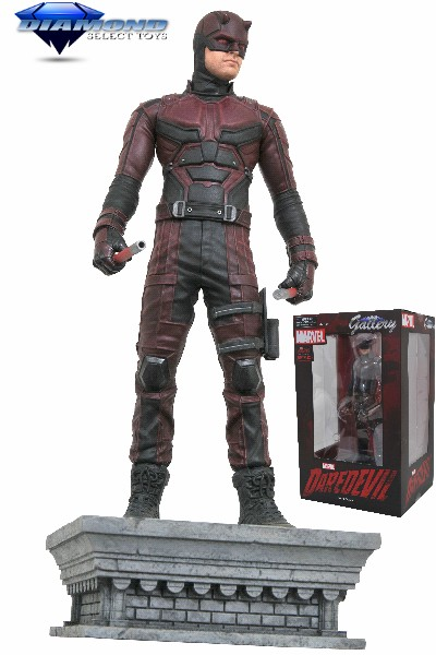 Diamond Select Toys Marvel Gallery Netflix Daredevil PVC Diorama