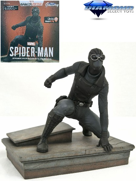 Diamond Select Toys Marvel Gallery Spider-Man Noir PVC Diorama