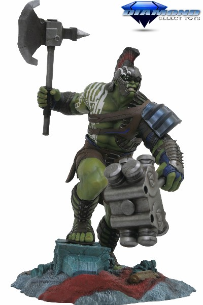 Diamond Select Toys Marvel Gallery Thor Ragnarok Hulk PVC Figure