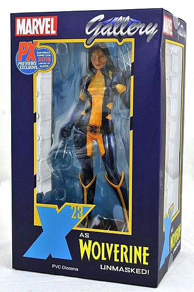 Diamond Select Toys Marvel Gallery X-23 as Wolverine Unmasked