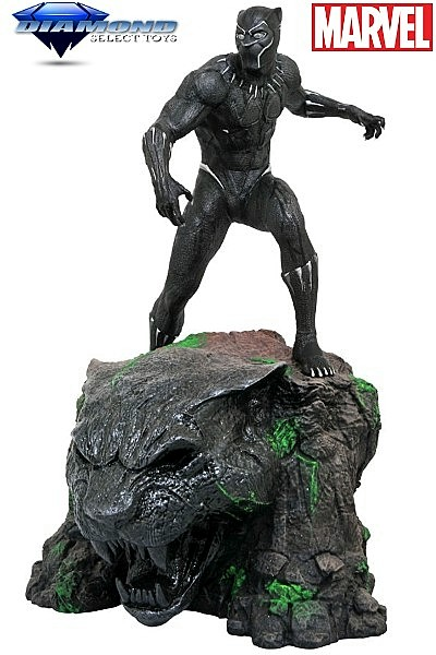 Diamond Select Toys Marvel Milestones Black Panther Movie Statue