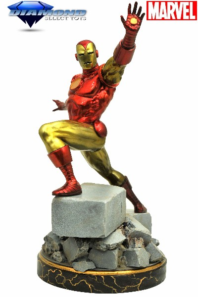 Diamond Select Toys Marvel Premier Collection Iron Man Statue