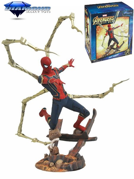 Diamond Select Toys Marvel Premier Collection Iron Spider Statue