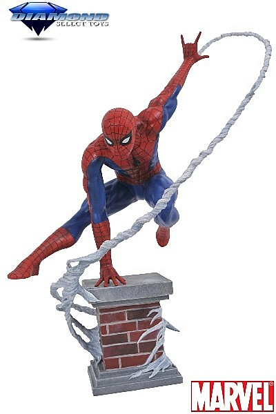 Diamond Select Toys Marvel Premier Collection Spider-Man Statue
