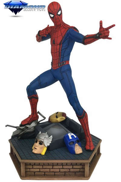 Diamond Select Toys Marvel Premier Spider-Man Homecoming Statue