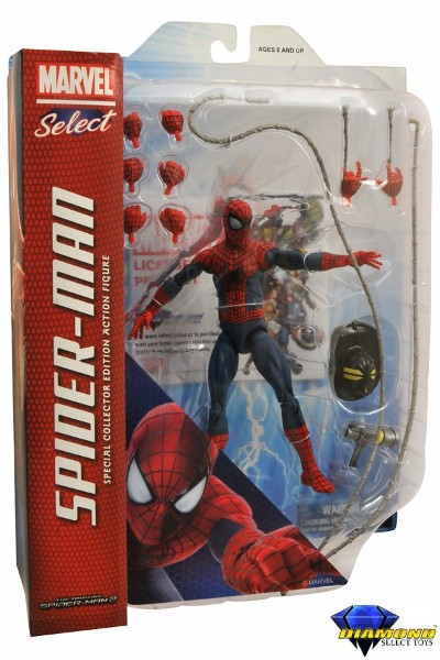 Diamond Select Toys Marvel Select Amazing Spider-Man 2 Figure