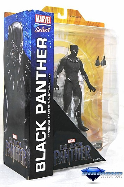 Diamond Select Toys Marvel Select Black Panther Movie Figure
