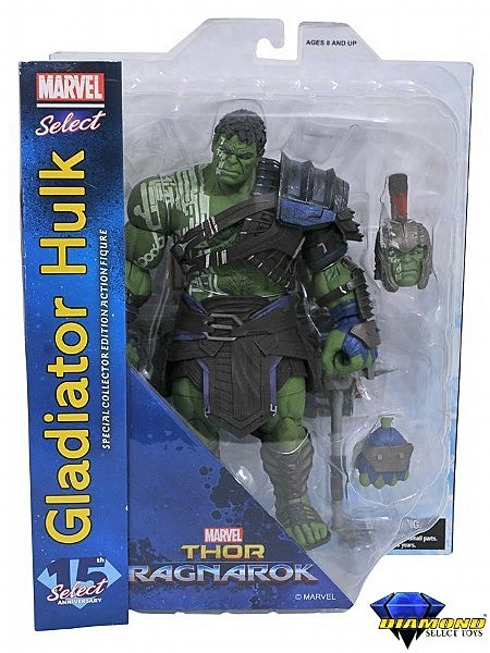 Diamond Select Toys Marvel Select Gladiator Hulk Figure