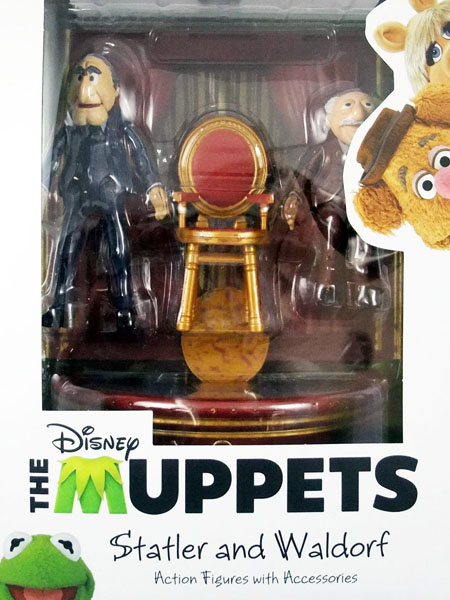 Diamond Select Toys Muppets Series 2 Statler & Waldorf Figure