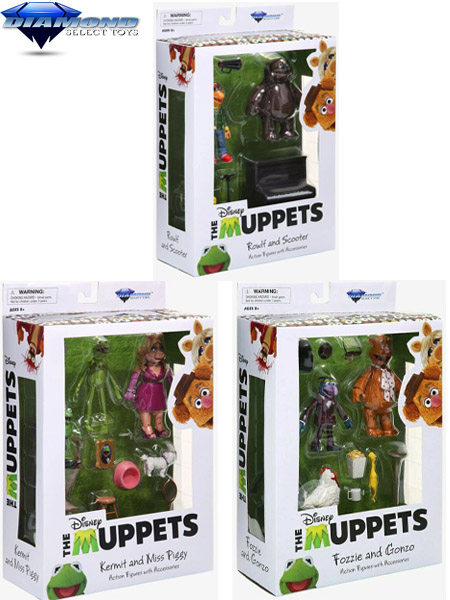 Diamond Select Toys The Muppets Best of Series 1 Figure Set