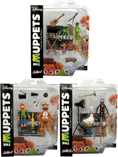 Diamond Select Toys The Muppets Series 1 Set of 7 Figures
