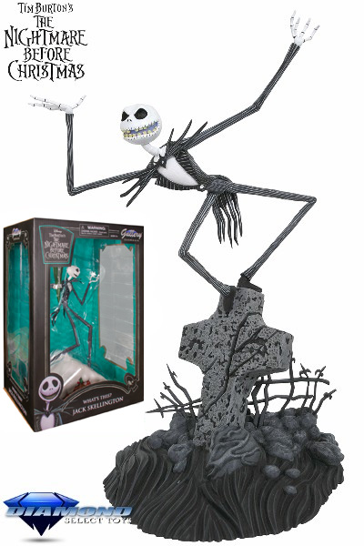 Diamond Select Toys NBX Gallery Jack Skellington PVC Figure