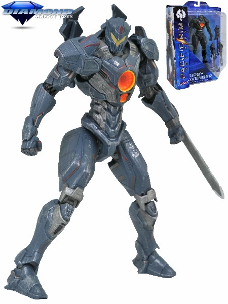 Diamond Select Toys Pacific Rim Uprising Gipsy Avenger Figure