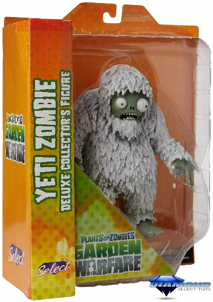 Diamond Select Toys Plants vs Zombies Deluxe Yeti Figure
