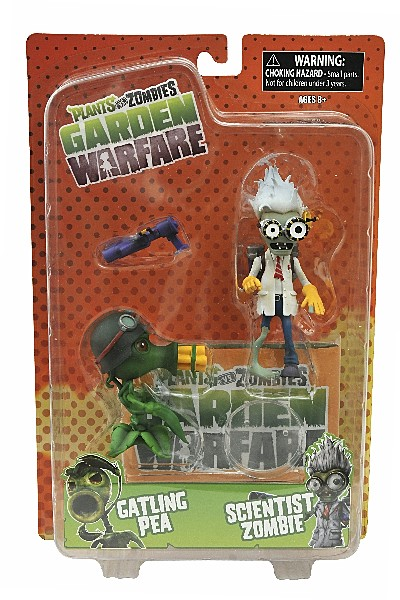 Diamond Select Toys Plants vs Zombies Garden Warfare Figure Set