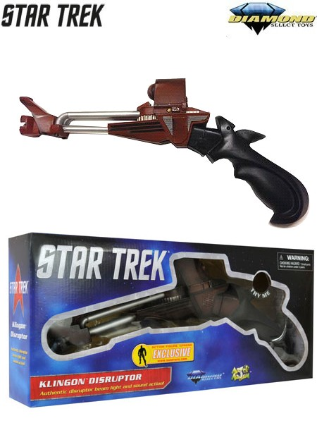 Diamond Select Toys Star Trek Search for Spock Klingon Disruptor