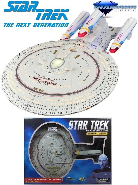 Diamond Select Toys Star Trek USS Enterprise NCC-1701-D Ship