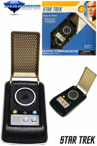 Diamond Select Toys Star Trek TOS Classic Communicator
