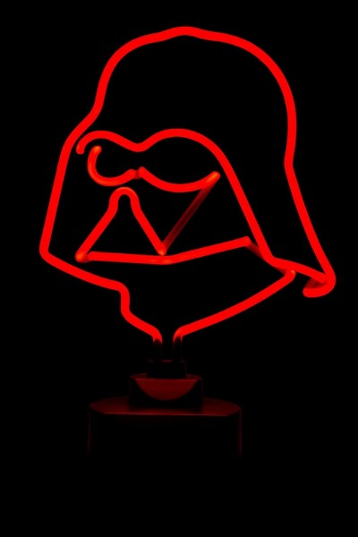 Diamond Select Toys Star Wars Darth Vader Neon Sign