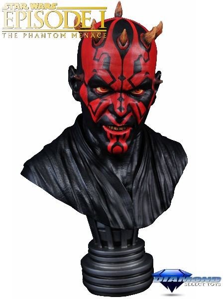 Preorder Diamond Select Legends in 3D Star Wars Darth Maul Bust
