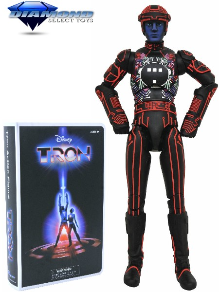 Diamond Select Toys Tron Deluxe VHS Figure Box Set Exclusive