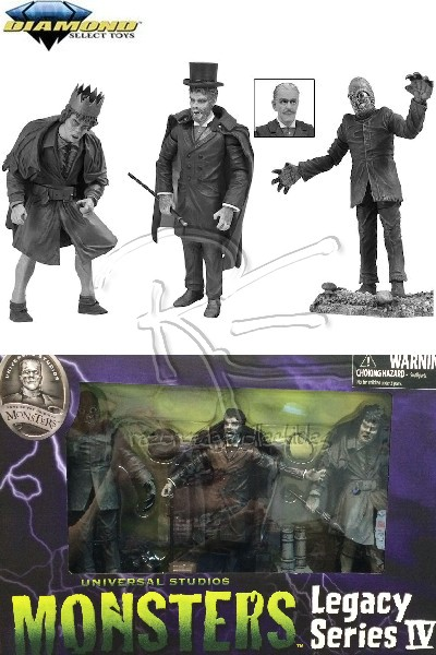 Diamond Select Toys Universal Monsters Black & White Set #4