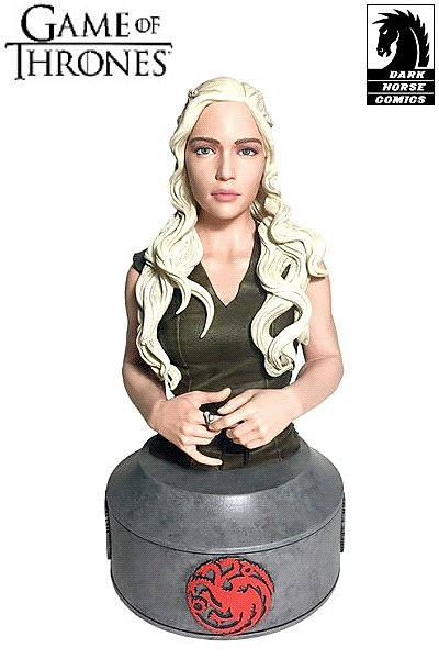 Dark Horse Game of Thrones Daenerys Mother of Dragons Bust
