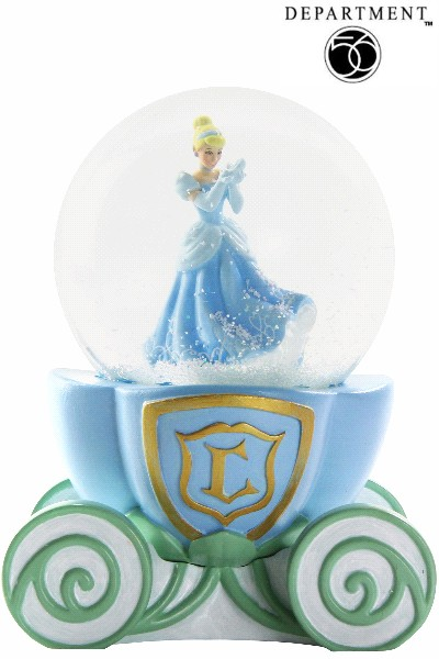 Department 56 Disney Cinderella Snow Globe