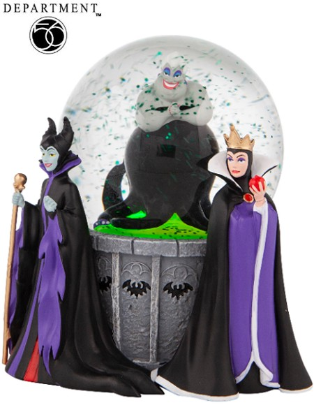 Department 56 Disney Villains 100 MM Light Up Waterball