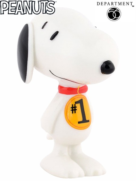 Department 56 Peanuts Snoopy's Number 1 Fan Figurine