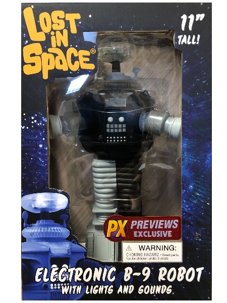 Diamond Select Toys Lost In Space B9 Anti-Matter Robot Figure