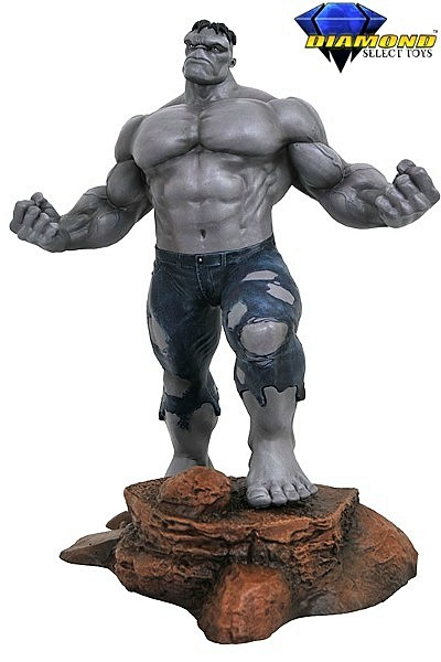 Diamond Select Toys Marvel Gallery Grey Hulk Exclusive Figure