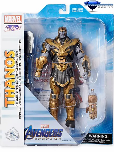 Diamond Select Toys Marvel Select Avengers Endgame Thanos Figure