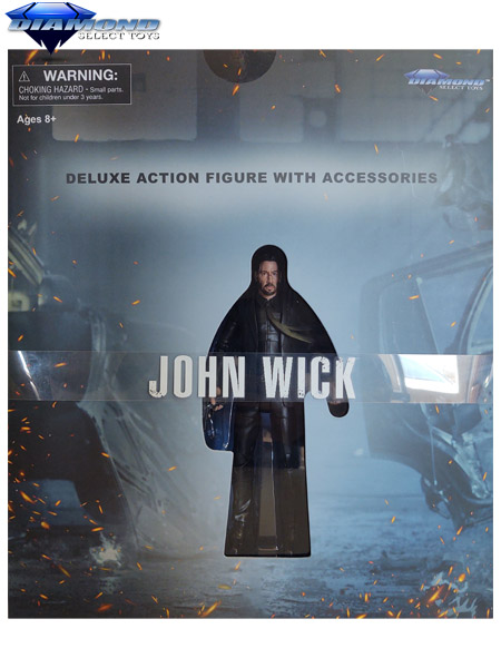 Diamond Select Toys John Wick Movie Set Deluxe Action Figure